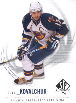 2009-10 SP Authentic #17 Ilya Kovalchuk