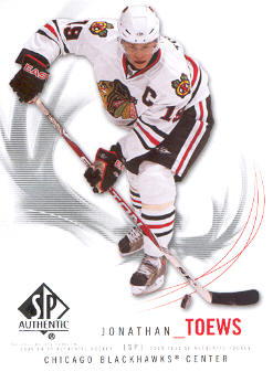 2009-10 SP Authentic #19 Jonathan Toews