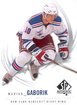 2009-10 SP Authentic #20 Marian Gaborik