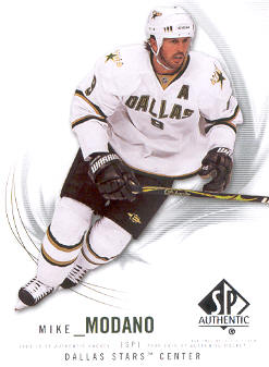 2009-10 SP Authentic #21 Mike Modano