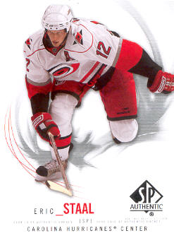 2009-10 SP Authentic #22 Eric Staal