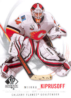 2009-10 SP Authentic #24 Miikka Kiprusoff