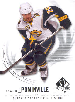 2009-10 SP Authentic #25 Jason Pominville