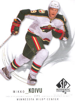 2009-10 SP Authentic #28 Mikko Koivu