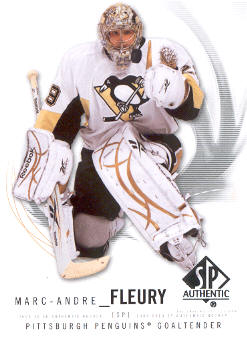 2009-10 SP Authentic #29 Marc-Andre Fleury