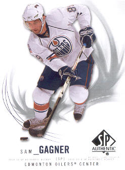 2009-10 SP Authentic #31 Sam Gagner