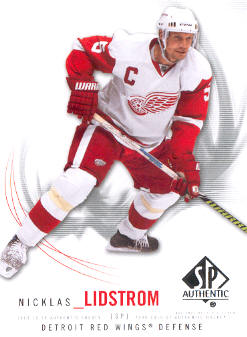2009-10 SP Authentic #32 Nicklas Lidstrom