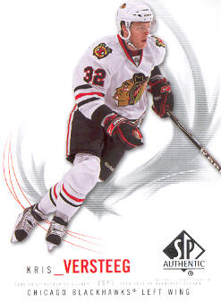 2009-10 SP Authentic #36 Kris Versteeg