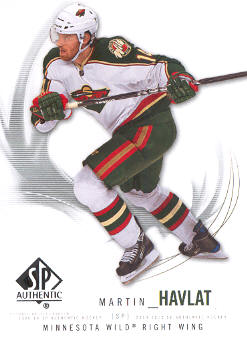 2009-10 SP Authentic #39 Martin Havlat