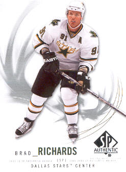 2009-10 SP Authentic #42 Brad Richards