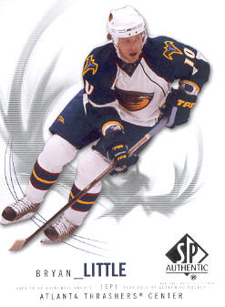 2009-10 SP Authentic #43 Bryan Little