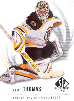 2009-10 SP Authentic #51 Tim Thomas