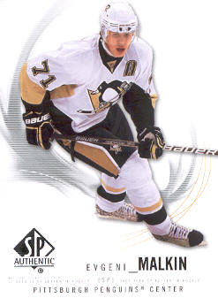 2009-10 SP Authentic #53 Evgeni Malkin
