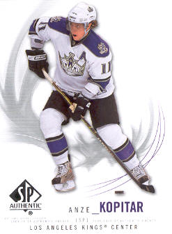 2009-10 SP Authentic #54 Anze Kopitar