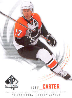 2009-10 SP Authentic #55 Jeff Carter
