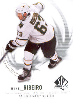2009-10 SP Authentic #56 Mike Ribeiro