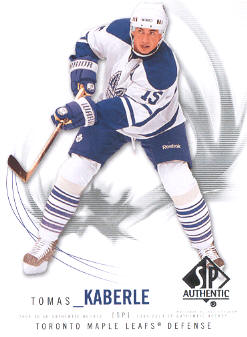 2009-10 SP Authentic #57 Tomas Kaberle