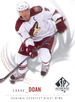 2009-10 SP Authentic #58 Shane Doan