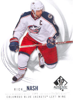 2009-10 SP Authentic #61 Rick Nash