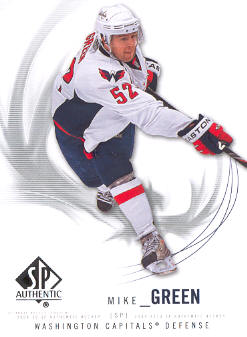 2009-10 SP Authentic #62 Mike Green