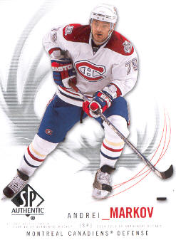 2009-10 SP Authentic #63 Andrei Markov