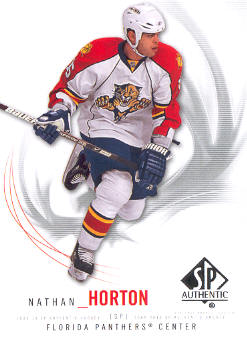 2009-10 SP Authentic #65 Nathan Horton