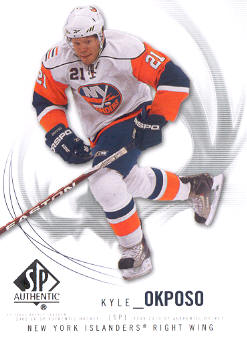 2009-10 SP Authentic #67 Kyle Okposo