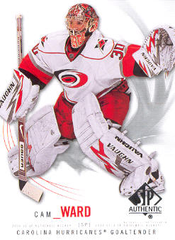 2009-10 SP Authentic #69 Cam Ward