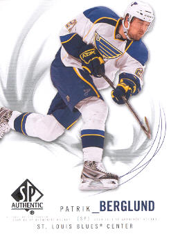 2009-10 SP Authentic #72 Patrik Berglund