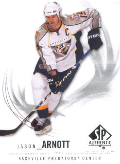 2009-10 SP Authentic #80 Jason Arnott