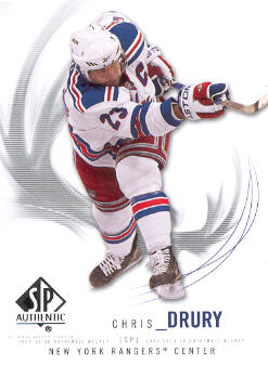 2009-10 SP Authentic #81 Chris Drury