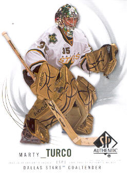 2009-10 SP Authentic #85 Marty Turco
