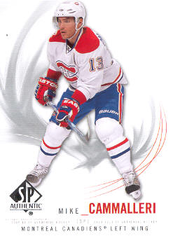 2009-10 SP Authentic #86 Mike Cammalleri