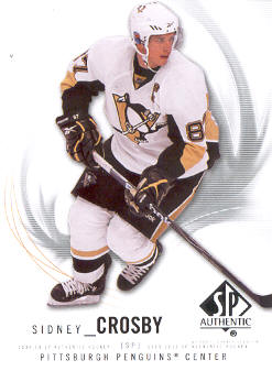 2009-10 SP Authentic #87 Sidney Crosby