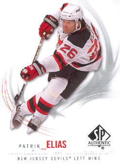 2009-10 SP Authentic #89 Patrik Elias