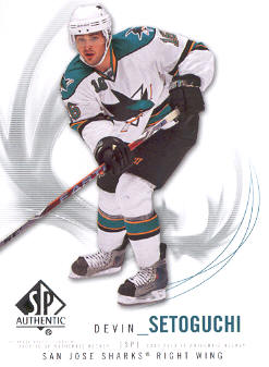 2009-10 SP Authentic #90 Devin Setoguchi
