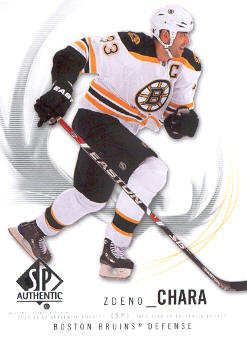 2009-10 SP Authentic #91 Zdeno Chara