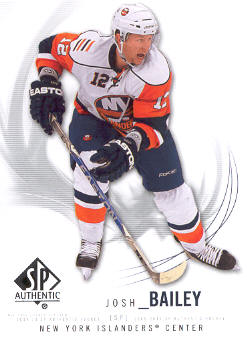 2009-10 SP Authentic #93 Josh Bailey
