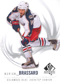 2009-10 SP Authentic #94 Derick Brassard front image