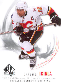 2009-10 SP Authentic #96 Jarome Iginla