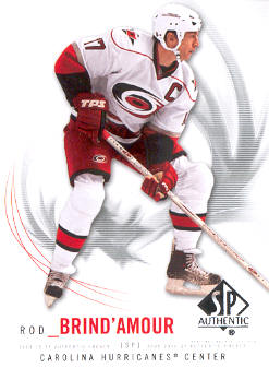 2009-10 SP Authentic #97 Rod Brind`Amour