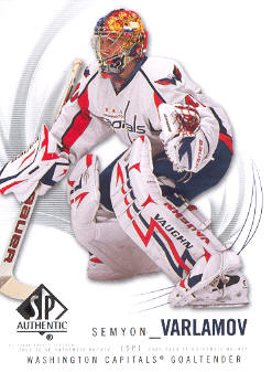 2009-10 SP Authentic #98 Semyon Varlamov