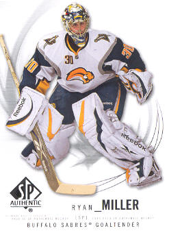 2009-10 SP Authentic #100 Ryan Miller