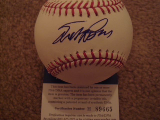 Scott Brosius Autographed Official MLB Baseball With PSA COA