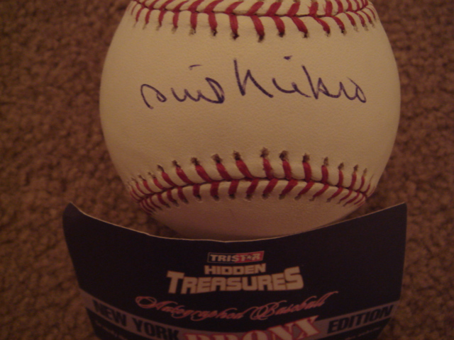 Phil Niekro Autographed Official MLB Baseball With TRI STAR COA