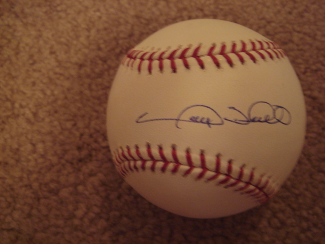 Gary Sheffield Autographed Official MLB Baseball With PSA COA