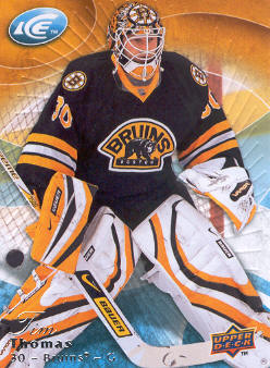 2009-10 Upper Deck Ice #3 Tim Thomas