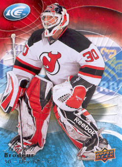 2009-10 Upper Deck Ice #9 Martin Brodeur