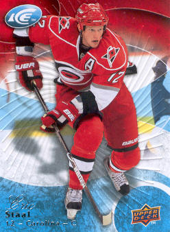 2009-10 Upper Deck Ice #20 Eric Staal