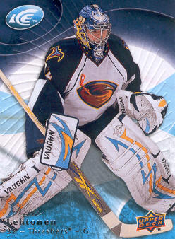 2009-10 Upper Deck Ice #45 Kari Lehtonen